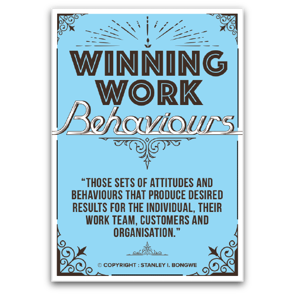 Winning Work Behaviors